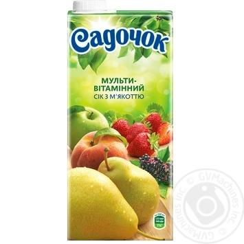 Sadochok Multivitamin Juice with pulp 0.95l - buy, prices for Furshet - image 4