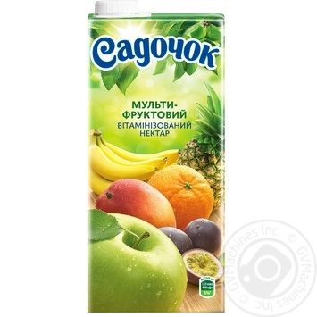 Sadochok Multifruit Nectar 0.95l - buy, prices for Novus - image 4