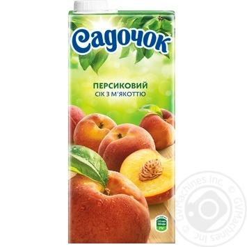 Сік Садочок персиковий 0,95л - купити, ціни на Метро - фото 4