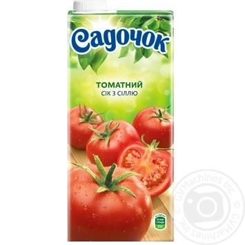 Sadochok tomato juice with salt 0,95l - buy, prices for Furshet - image 4
