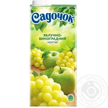 Нектар Садочок яблочно-виноградный 0,95л - купить, цены на МегаМаркет - фото 4