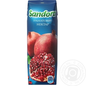 Нектар Sandora гранатовий 250мл - купити, ціни на МегаМаркет - фото 3