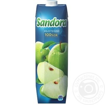 Сок Sandora яблочный 950мл - купить, цены на Метро - фото 3