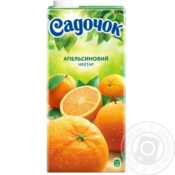 Нектар Садочок апельсиновий 1,93л - купити, ціни на Novus - фото 4