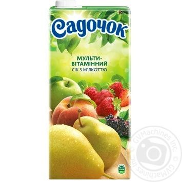 Sadochok multivitamin juice 1,93l - buy, prices for Novus - image 4