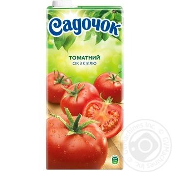 Сік Садочок томатний з сіллю 1,93л - купити, ціни на Фуршет - фото 4