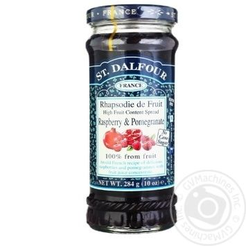 St.Dalfour Raspberry-Pomegranate Jam 284g - buy, prices for MegaMarket - image 3