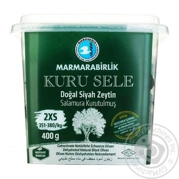 Оливки черные Marmarabirlik вяленые 400г - купить, цены на Novus - фото 3