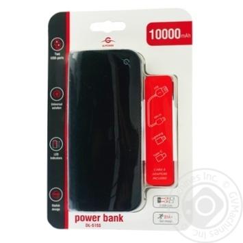 Power Bank DL515S 10000mAh - купить, цены на Фуршет - фото 1