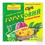 Суп Чудова гороховый с беконом 160г