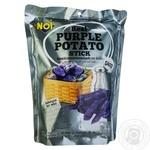 Снек Noi Палички картопляні фіолетові солоні 80г