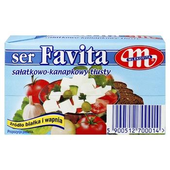 Mlekovita Favita Soft Salt Cheese 45% 270g - buy, prices for CityMarket - photo 3