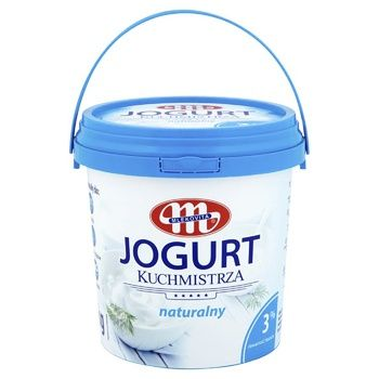 Йогурт Mlekovita Kuchmistrza 3% 1000г - купить, цены на Varus - фото 1