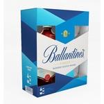 Виски Ballantine's Finest 40% 0,7л + 2 бокала