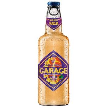 Пиво Seth & Riley's Garage Radja светлое специальное пастеризованное 4,6% 0,44л