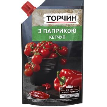 Кетчуп ТОРЧИН® с Паприкой 270г - купить, цены на Novus - фото 1