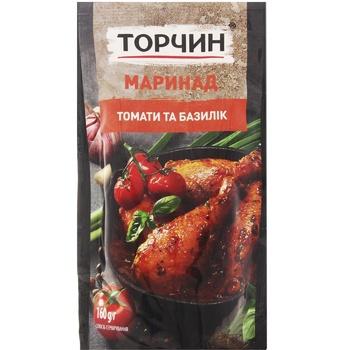 Маринад ТОРЧИН® Томаты и базилик 160г - купить, цены на Таврия В - фото 1