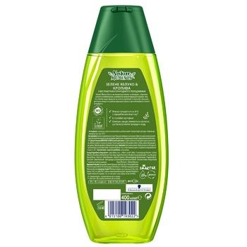 Шампунь Schauma Nature Moments Зеленое яблоко и кропива для нормальных волос и ежедневного использования 400мл - купить, цены на Ашан - фото 2