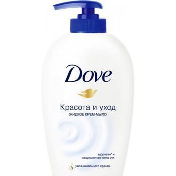 Крем-мыло Dove Красота и уход жидкое 250мл - купить, цены на Novus - фото 2