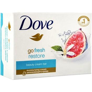 Крем-мыло Dove Инжир и лепестки апельсина 135г - купить, цены на Метро - фото 2