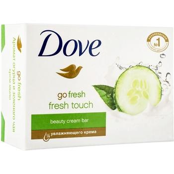 Крем-мило Dove Дотик свіжості 135г - купити, ціни на Novus - фото 2