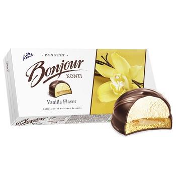 Десерт Контi Bonjour ваниль 232г - купить, цены на Фуршет - фото 2