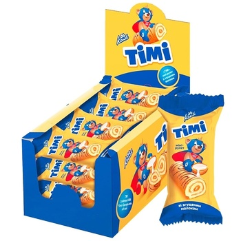 Konti Timi with condensed milk mini-roll biscuit 50g - buy, prices for Furshet - image 2