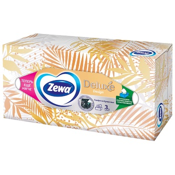 Zewa Deluxe Paper Napkins 90pcs assorted design - buy, prices for Tavria V - image 5