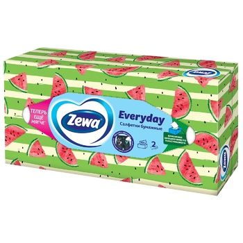 Zewa Everyday Napkins cosmetic 2 layers of 100 pieces - buy, prices for CityMarket - photo 7