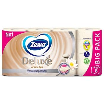 Туалетний папір Zewa Deluxe Aroma Spa трьохшарова 8шт - купити, ціни на Novus - фото 2