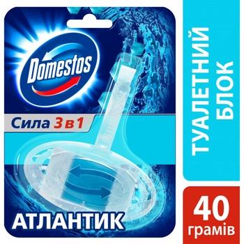 Domestos Atlantic Hygienic Toilet Block 40g - buy, prices for CityMarket - photo 4