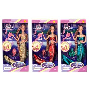 Defa Lucy Mermaid with Accessories Doll - buy, prices for CityMarket - photo 2