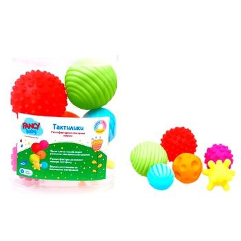 Развивающая игрушка Fancy Baby Тактилики - купить, цены на Novus - фото 3