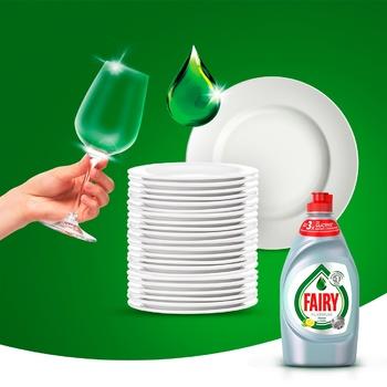 Средство для мытья посуды Fairy Platinum Лимон и лайм 430мл - купить, цены на Восторг - фото 4