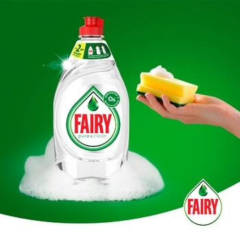Жидкость для мытья посуды Fairy Pure & Clean 450мл - купить, цены на Фуршет - фото 3