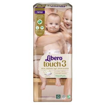 Подгузник  Libero Touch для детей 4-8кг 50шт. - купить, цены на Восторг - фото 6