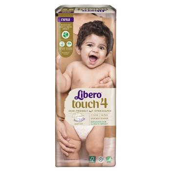 Подгузник  Libero Touch 4 для детей 7-11кг 46шт - купить, цены на СитиМаркет - фото 6
