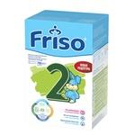 Суха адаптована молочна суміш Friso 2 Lock Nutri для дитячого харчування з 6 до 12 місяців 700г