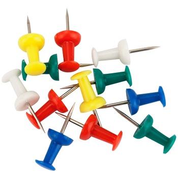 Кнопки Axent цветные 50шт - купить, цены на МегаМаркет - фото 3