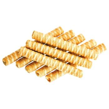 Вафельные трубочки Делиция со вкусом топленого молока 500г - купить, цены на Varus - фото 3