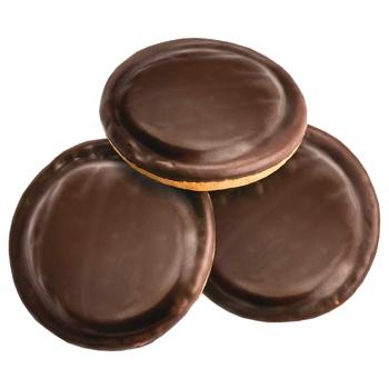 Печиво Деліція зі смаком апельсина здобне 135г - купити, ціни на Ашан - фото 3