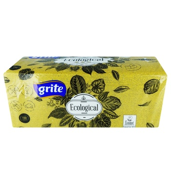 Grite Ecological Paper Towels Two-layer 150 sheets - buy, prices for Auchan - photo 1