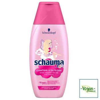 Шампунь и гель для душа Schauma Kids для волос и кожи детей 250мл - купить, цены на Novus - фото 3