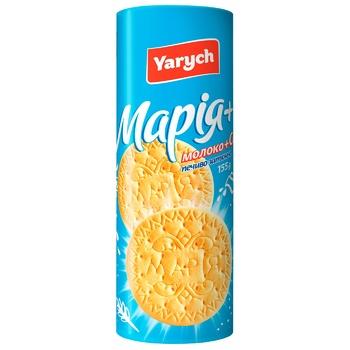 Печенье Yarych Мария с молоком и кальцием 155г - купить, цены на Таврия В - фото 2