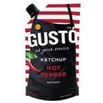 Кетчуп Gusto Hot Pepper 250г