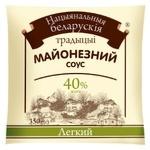 Соус майонезный Национальная белорусская традиция Легкий 40% 350г
