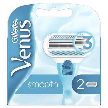 Картриджи для бритья Gillette Venus сменные 2шт - купить, цены на Ашан - фото 6