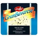 Сир Steffel Гран Баварезе з блакитною пліснявою 50% 100г