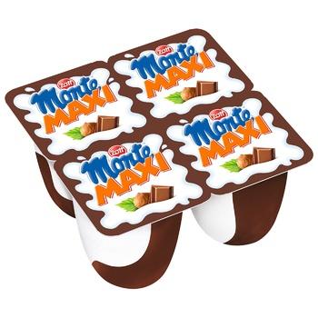 Zott Monte Maxi Milk Dessert with Chocolate and Hazelnuts 13,3% 100g - buy, prices for CityMarket - photo 2