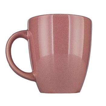 Чашка Actuel керамическая розовая 300мл - купить, цены на Ашан - фото 1